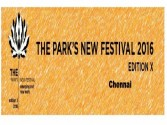 Veteran artists to perform at the 10th edition of Park's New Festival