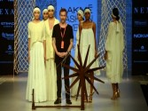 Khadi goes chic, glamorous on LFW runway