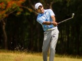 Golfer Taunk for Bonallack Trophy