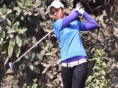 Vani takes sole lead in women's golf