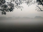 Temperature dips on Friday morning in Delhi