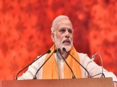 To set his son, Naidu leading Andhra to sunset: Modi