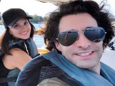 Sunny Leone, Daniel Weber take their kids to the lake